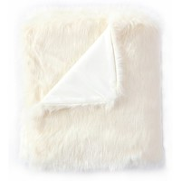 Mueller Luxury Tip Dye Faux Fur Throw