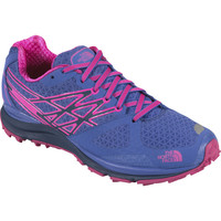 The North Face Ultra Cardiac Trail Running Shoe - Women's Amparo Blue/Glo Pink,