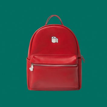TP PU Leather Backpack