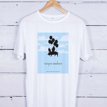 Vampire weekend baloon Tshirt T-shirt Tees Tee Men Women Unisex Adults