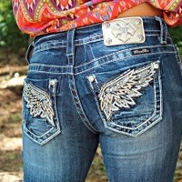 Miss Me Angel Wings Jeans