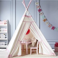 Teepee with Trim | Pottery Barn Kids