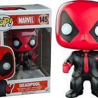Funko Pop Marvel: Deadpool Suit Exclusive Vinyl Figure
