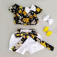 Cute Girl Summer Outfits Toddler Girl Outfit Sets