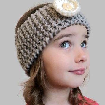 Hair Accessories for Girl Soft Headband Baby Headband Little Girl's Headband Hairband for Toddlers Knitted Headband Cable Ear Warmer