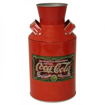 Coca-cola Vintage Milk Can Replica