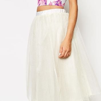 True Violet Full Prom Tulle Skirt