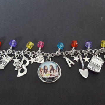 Pretty little liars inspired charm bracelet
