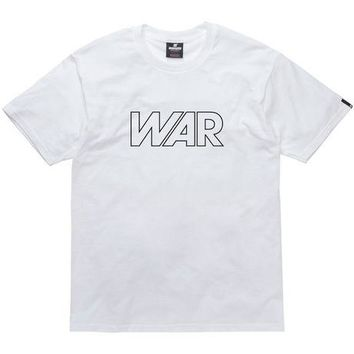 ONETOW Undefeated War Tee In White