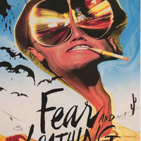 Fear and Loathing in Las Vegas Movie Poster 22x34