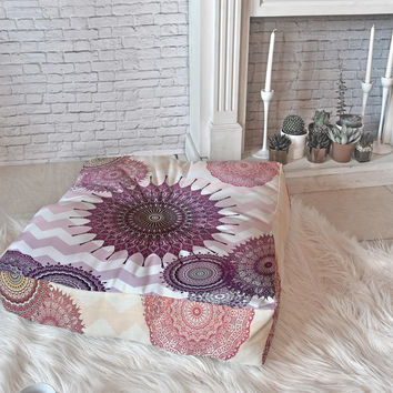 Monika Strigel Sweet Boho Dreams Floor Pillow Square