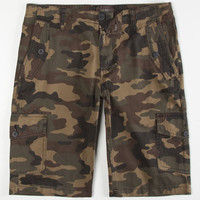 Ambig Moses Mens Cargo Shorts Camo  In Sizes