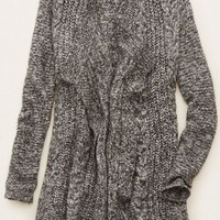 Aerie Women's Oversized Cable Knit Cardi