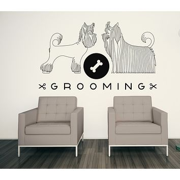 Vinyl Decal Wall Sticker Purity Grooming Hygiene Animals Beauty Unique Gift( n642)