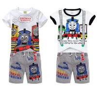 Boy thomas train short set