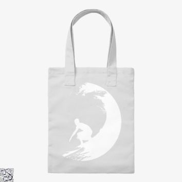 Catch A Wave, Surfing Tote Bag