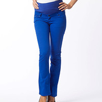 Gor & Sin Saxe Boot-Cut Over-Belly Maternity Pants