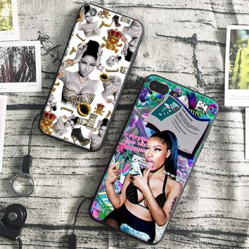 Fashion Nicki Minaj Cool Design silicone Phone Case Cover Shell For Apple iPhone 5 5s Se 6 6s 7 8 Plus X XR XS MAX