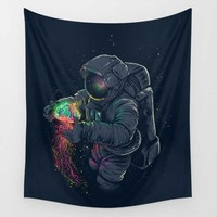 Colorful Astronaut Wall Hanging Tapestry