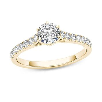 3/4 CT. T.W. Diamond Engagement Ring in 14K Gold