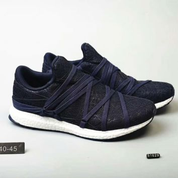 Adidas ultra boost nest Fashion Men Running Sport Shoes Sneakers Navy G-MLDWX