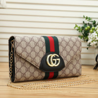 Leather GUCCI Wallet Clutch Bag