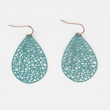 FULL TILT Patina Tear Drop Earrings | Earrings