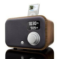 Vers - 1.5R Alarm Clock Radio - Natural Walnut