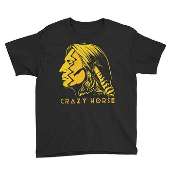 Crazy Horse Youth Short Sleeve T-Shirt