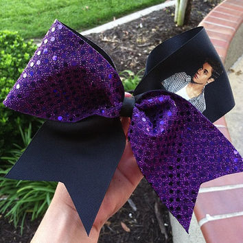 Justin Bieber Bow by CheerBowXO on Etsy