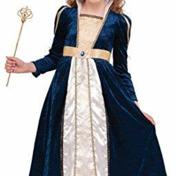 Princess Girls Dress Costume Medieval Tudors