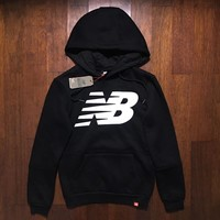 new balance nb women fashion hooded top sweater pullover sweatshirt hoodie-1