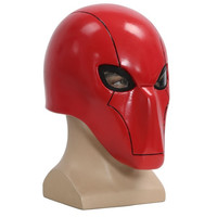 Under the Red Hood Cosplay Mask Helmet  (Size: One Size, Color: Red) = 1927902340