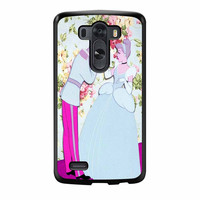 Cinderella Floral Party LG G3 Case
