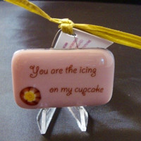 Icing to My Cupcake Mini Stand-up Plaque by Design4Soul
