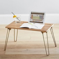 Wood & Metal Lapdesk