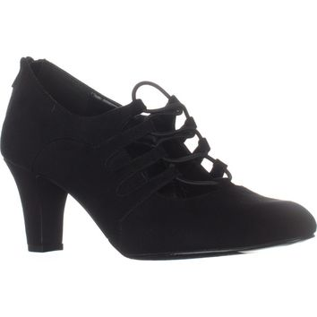 Easy Street Jennifer Oxford Pumps, Black, 5 US