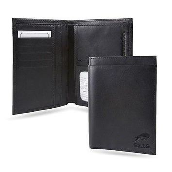Buffalo Bills NFL RFID Blocking Traveling Passport Leather Wallet