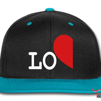 love left side for couples only Snapback