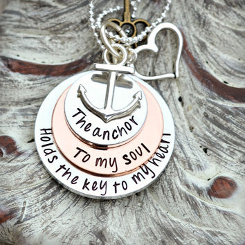 The anchor to my soul holds the key to my heart Hebrews 6 19