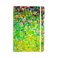 "Ebi Emporium ""Holiday Cheer"" Yellow Green Everything Notebook"