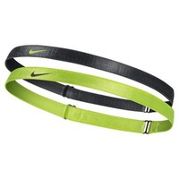 Nike Adjustable Headbands 2 Pack - Black