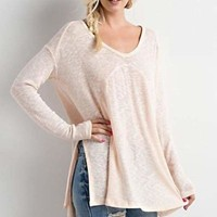 Atlantic Vintage Knit - Blush