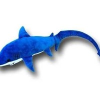 "22"" Thresher Shark Plush Stuffed Animal Toy"