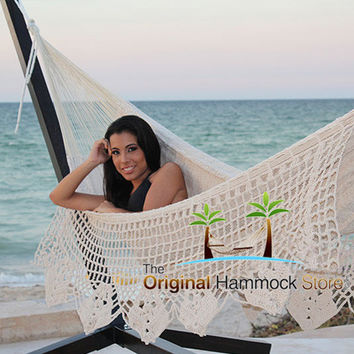 Thick Cord Hammock Delux