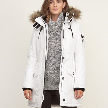 Hooded Arctic Parka Jacket