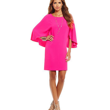 Gianni Bini Isabella Cape Dress | Dillards