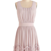 ModCloth Fairytale Mid-length Sleeveless A-line Wedding Planner Dress