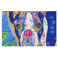 "Rebecca Fischer ""Addy Mae"" Pug Terrier Decorative Door Mat"