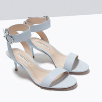Design Stylish Summer Shoes With Heel Simple Design Roman Sandals [4918350788]